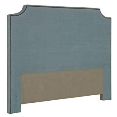 Broyhill Andrina Clipped Corner Custom Upholstered Bed