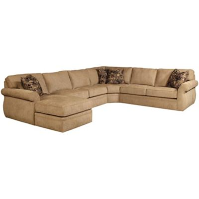 Broyhill express veronica chaise sectional for Broyhill chaise