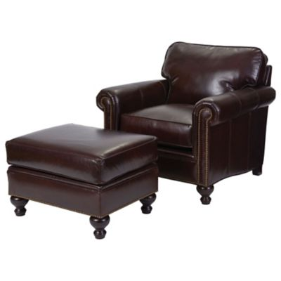 Broyhill Tanners Choice Harrison Leather Chair
