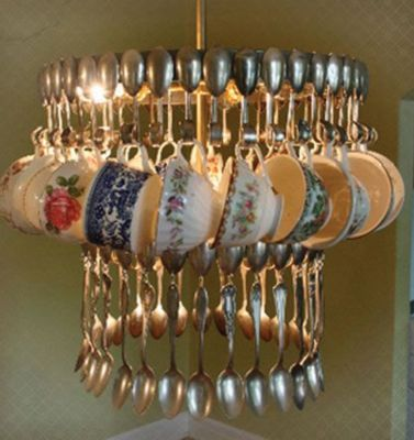 upcycled boulesteix chandeliers can p candles sizes different w teacup in be dark chandelier blue content bits made recycled madeleine deco
