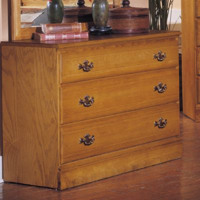 Carolina Furniture Works Oak Single Dresser