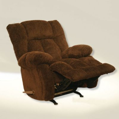 Catnapper laredo chaise rocker recliner in chocolate for Catnapper reclining chaise