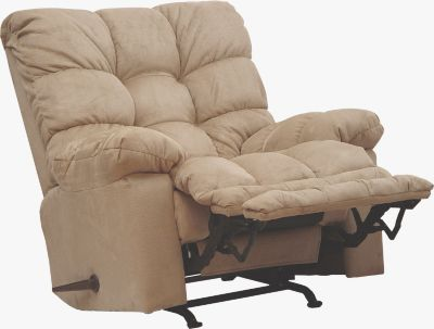 Catnapper magnum chaise rocker recliner in hazelnut for Catnapper magnum chaise recliner