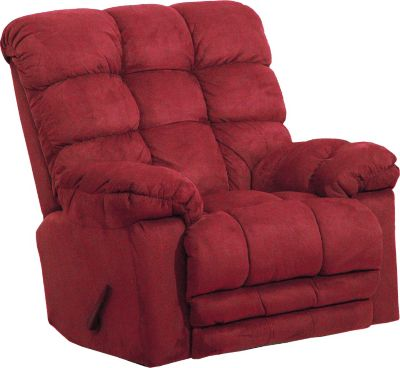 Catnapper magnum chaise rocker recliner in merlot for Catnapper magnum chaise rocker recliner
