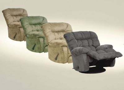 Catnapper teddy bear chaise rocker recliner in graphite for Catnapper teddy bear chaise recliner
