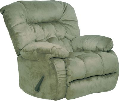 Catnapper teddy bear chaise rocker recliner in sage for Catnapper teddy bear chaise recliner