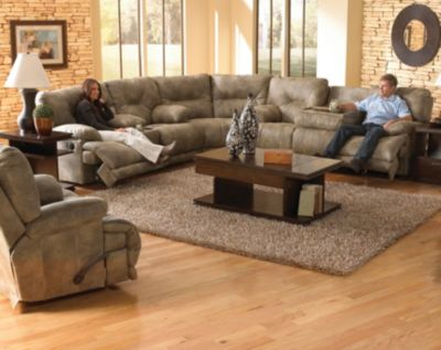 Catnapper Voyager 438 Lay Flat Reclining Sectional