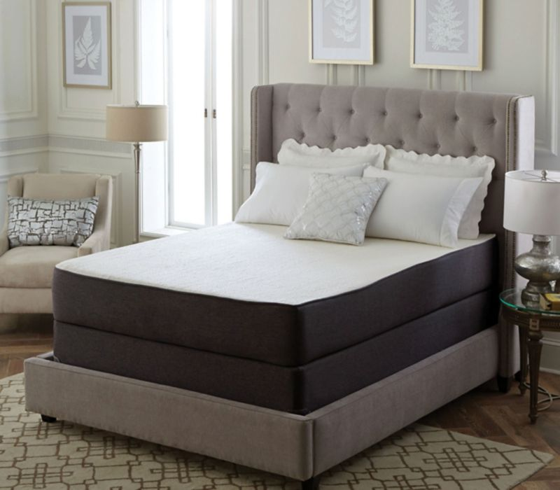 King Classic Brands Cool Gel 12 Inch Ventilated Memory Foam Mattress