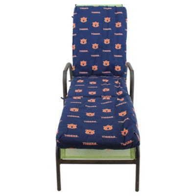 College covers auburn university 3 piece chaise lounge cushion for Chaise lounge cushion cover