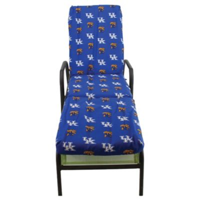 College covers university of kentucky 3 piece chaise for Chaise lounge cushion covers