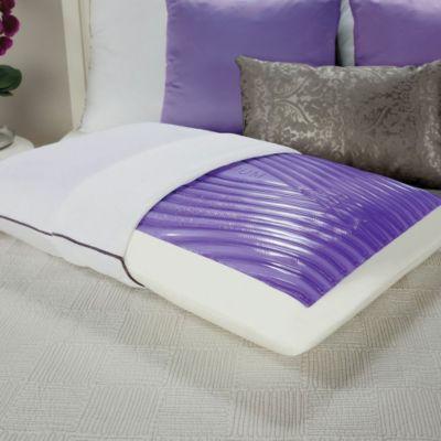 Sealy Optimum Optigel Memory Foam Pillow by fort Revolution