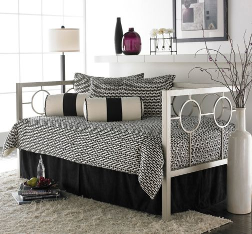 Fashion Bed Group Astoria Daybed with Free Mattress - Daybeds With A Pop-Up Trundle