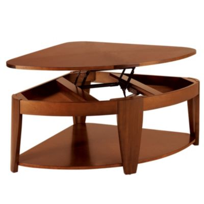 Hammary Oasis Wedge Lift Top Cocktail Table