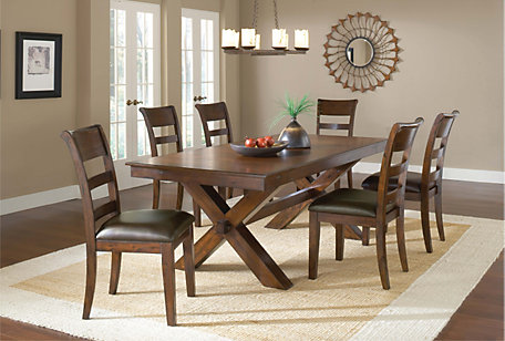 Hillsdale Furniture Park Avenue 7 Piece Dining Set – Hillsdale Dining Chairs