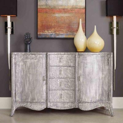 Hooker Furniture Melange Zigzag Painted Chest