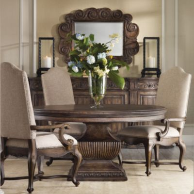 Hooker Furniture Rhapsody Round Dining Table - Hooker dining tables
