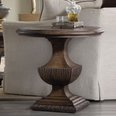 ... Hooker Furniture Rhapsody Urn Pedestal Side Table. Mouse Over Image For  A Closer Look.