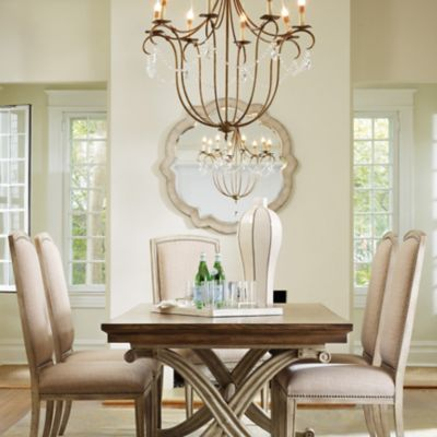 Awesome Hooker Furniture Sanctuary Accent Mirror   Hooker Round Dining Table