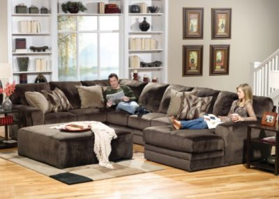 Jackson everest sectional you choose the configuration for Living room furniture configurations