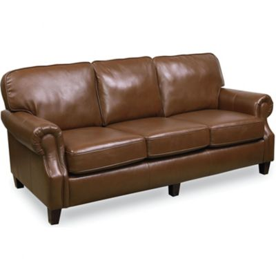 Lane Emerson Leather Queen Sleeper Sofa