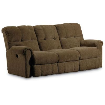 Lane fastlane griffin power double reclining sofa for Lane sectional sofa with recliner