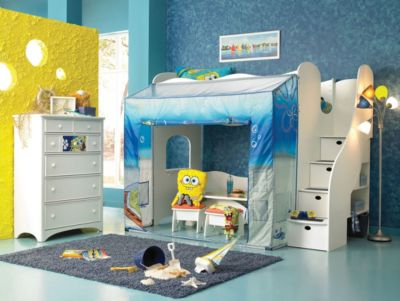 patrick squarepants kids child twin bedding sheet ebay