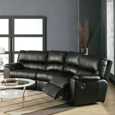 Palliser Yale 4 Seat Curved Sectional