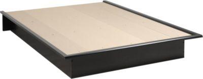 Prepac Platform Bed In Black