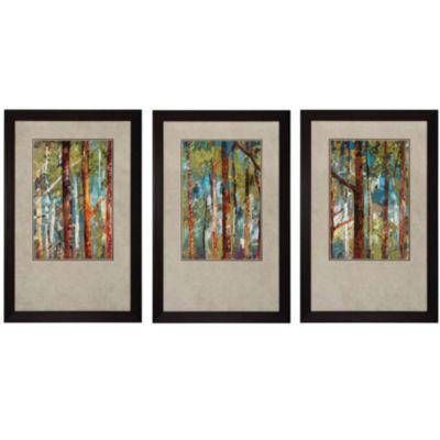 Propac Woodland I Ii Iii Wall Art Set Of 3