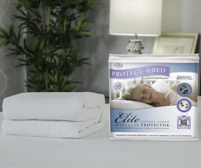 Protect Twin on Mattress   Pillow Protectors   Protect A Bed Elite Mattress Protector