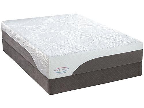 serta 10 inch gel memory foam mattress