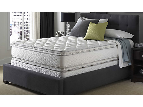 Serta Perfect Sleeper Hotel Shire Suite Double Sided Pillowtop Mattress