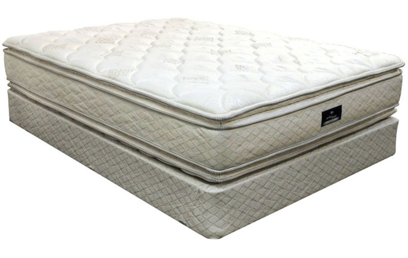 King Serta Perfect Sleeper Hotel Signature Suite Ii Double Sided Pillow Top Mattress