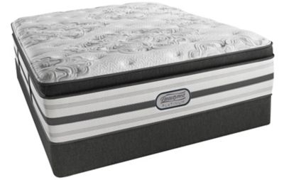 Simmons Beautyrest Platinum Tulsa Luxury Firm Pillow Top Mattress