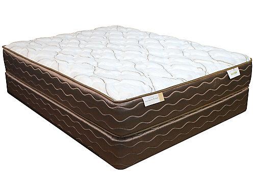 King spring air back supporter saint tropez firm mattress for Spring air mattress