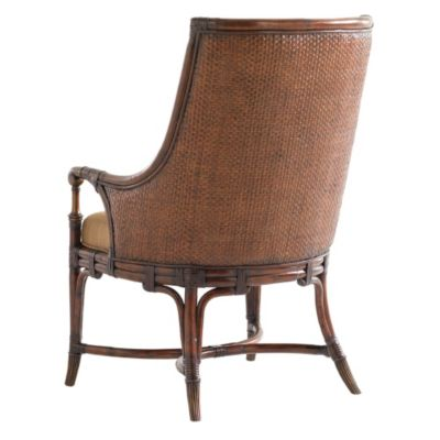 tommy bahama landara royal palm upholstered arm chair set of 2