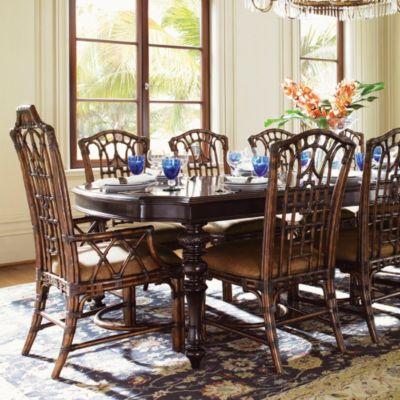 Tommy Bahama Royal Kahala Pacific Rim Arm Chair Set Of 2
