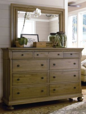Paula Deen Down Home Aunt Peggy S Dresser In Oatmeal Finish