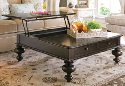 Paula Deen Home Put Your Feet Up Table In Tobacco Finish