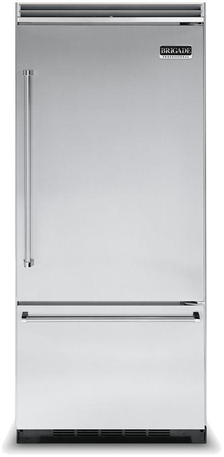 36 Quot Quiet Cool Bottom Freezer Refrigerator Cvcbb5363e