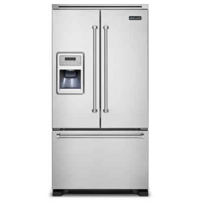 36 Quot W French Door Bottom Freezer Refrigerator With Ice And