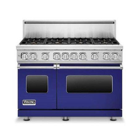 Viking Professional Cobalt-Blue Range Featured on DallasNews ...
