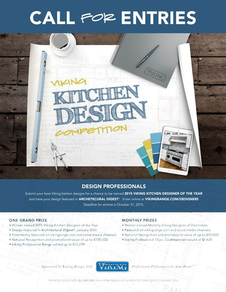 Kitchen Design Competition Flyer - Viking Range, LLC