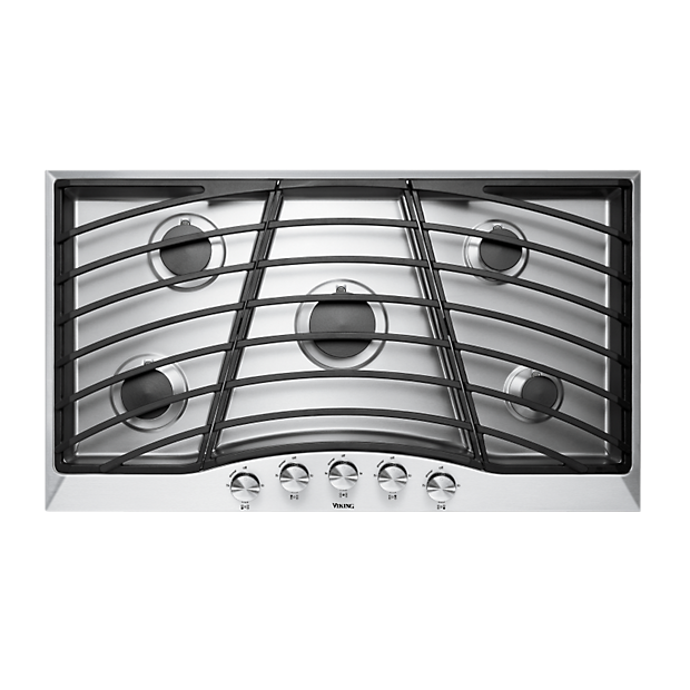 36 continuous grate gas cooktop dgsu161 viking range llc for Viking wok burner