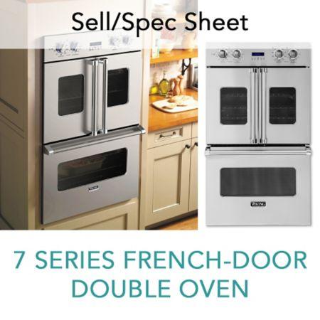 Spec Sheet For 7 Series Built In French Door Double Oven