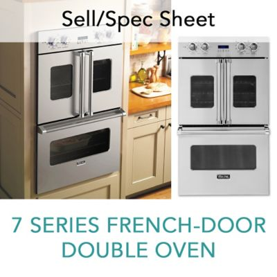 Captivating Spec Sheet For 7 Series Built In French Door Double Oven
