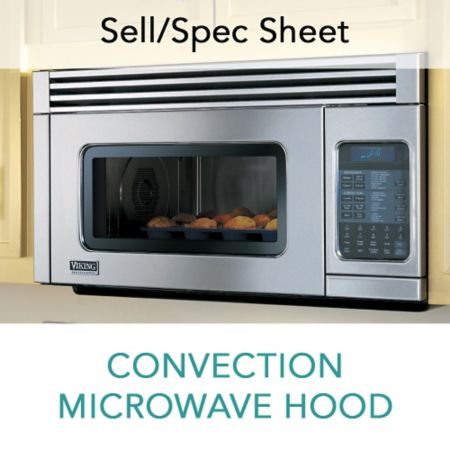 Spec Sheet For Convection Microwave Hood