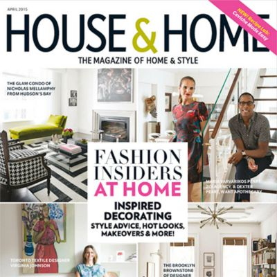 House U0026 Home Magazine: Home Of The Month