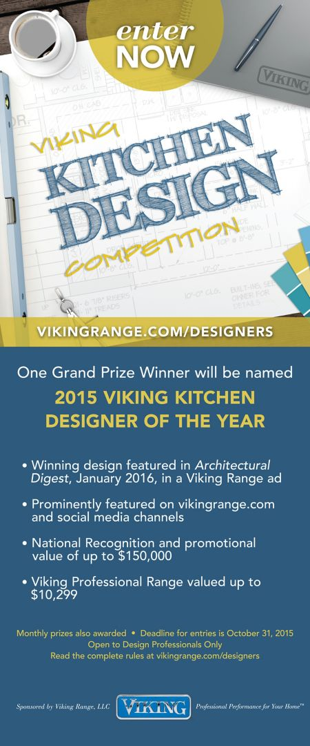 Kitchen Design Competition Poster - Viking Range, LLC