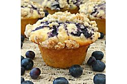 Mini Berry Crumb Cakes with Streusel Topping